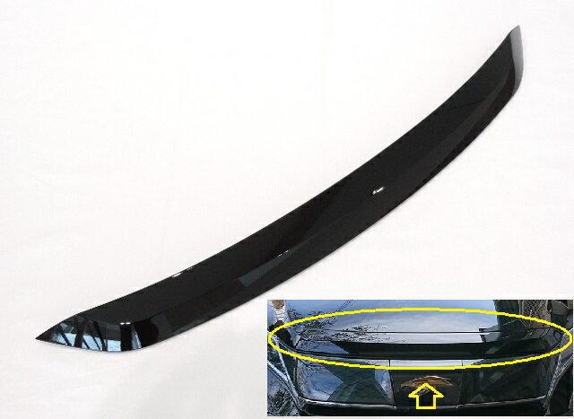 TOYOTA トヨタ純正60系ハリアー GRスポーツ用ボンネットフードフロントモール後期型に流用可能202:ブラック