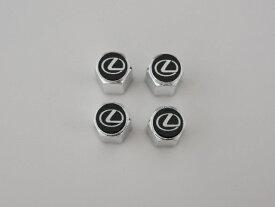 LEXUS レクサス純正エアーバルブキャップ1台分 4個セットレクサスロゴ入り※代引不可商品