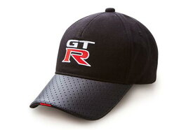 NISSAN 日産コレクションGT-R キャップ ブラックフリーサイズ(56〜60cm対応)ファッション 帽子