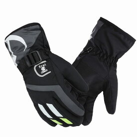 手袋 メンズ ウィンター グローブ アウトドア 防寒 防水 防風 通勤用 全4色