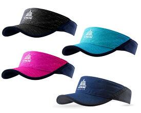 サンバイザー バイザーキャップ メンズ/レディース フリーサイズ 日焼け防止 UVカット 軽量 吸汗速乾 男女兼用 ランニング ジョギング