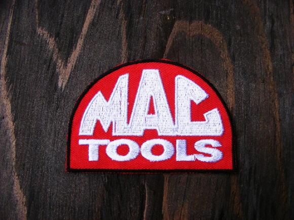 レターパックOK ワッペン/パッチ  マックツール(MAC TOOL) ハーレーじゃないけど人気のモーター系