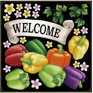 店舗看板シール ステッカー ラベル デコレーションシール (レストラン ベジタブル 野菜 サラダバー ブッフェ)68581(チョークアート 掲示板 サイン ボード ブラックボード ホワイトボー