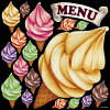 デコレーションシール看板ステッカー(洋食/カフェ/レストラン)61804お取り寄せブラックボード&ホワイトボードに