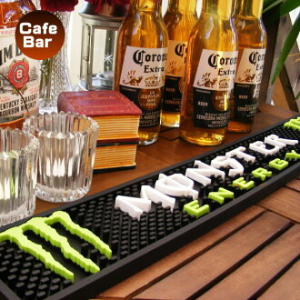 Bar mat rubber mat monster energy energy drink (stylish bar article cocktail cafe bar beer liquor wine)