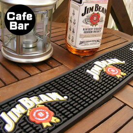 バーマット ラバーマット ジムビーム(おしゃれ バー用品 カクテル カフェ bar ビール)