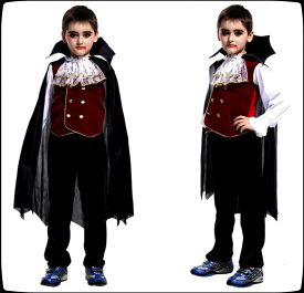 ハロウィン 衣装 子供 バンパイア ドラキュラ 吸血鬼 コスプレ サンタクロース 男の子 仮装 コスチューム 子供用 仮装 キッズ コスプレ衣装 子ども コスチューム ヴァンパイア キッズ 吸血鬼 ハロウィン衣装 悪魔 ホラー 怖い 大きい