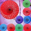 コスチューム用小物 和傘 踊り傘 紫 桜吹雪 和傘 番傘 コスプレグッズ ハロウィン 衣装 コスチューム