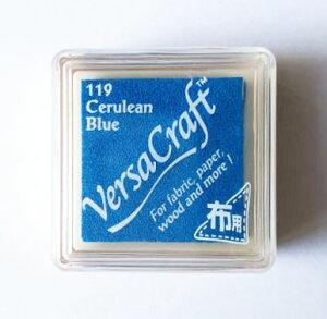 バーサクラフト S ツキネコ 顔料インク Cerulean Blue セルリアンブルー vks-119