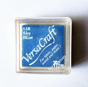 バーサクラフト S ツキネコ 顔料インク Sky Blue スカイブルー vks-138