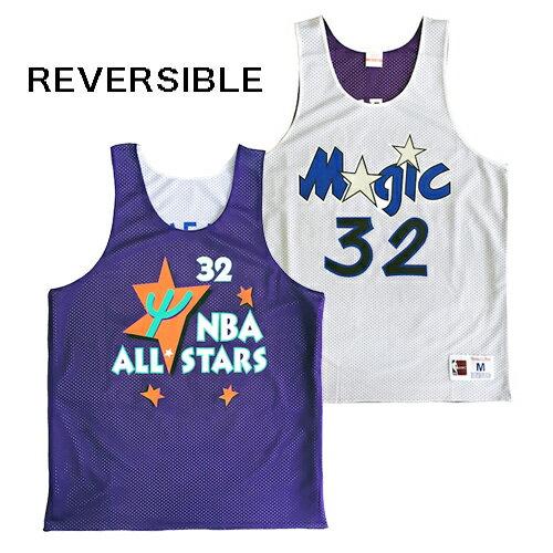 ミッチェル&ネス MITCHELL&NESS バスケットシャツ リバーシブル PURPLE/WHITE メッシュジャージー NBA ORLAND MAGIC O'NEAL シャック オニール オーランドマジック STREET ストリート アメリカブランド レターパックプラス可