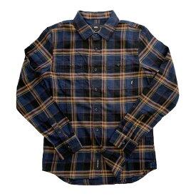 バンズ VANS ネルシャツ チェック フランネルシャツ ウォッシュ加工 STREET ストリート アメリカブランド
