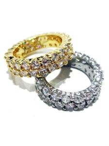 GOLDEN GILT ゴールデンギルト リング 指輪 GOLD ジルコニア ゴールド 18K コーティング SILVER シルバー アメリカブランド レターパックプラス可