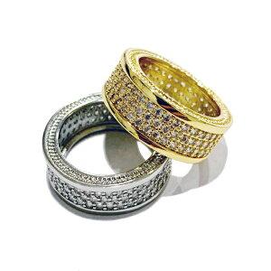 GOLDEN GILT ゴールデンギルト リング 指輪 GOLD ジルコニア ゴールド 18K コーティング アメリカブランド レターパックプラス可