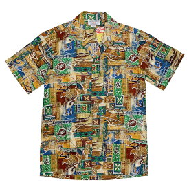 パシフィックレジェンド PACIFIC LEGEND アロハシャツ ハワイアンシャツ リゾート 南国 アメリカブランド レターパックプラス可