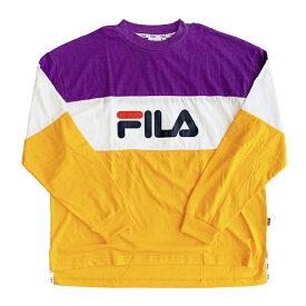 フィラ ヘリテージ ヘリテイジ FILA HERITAGE 長袖 Tシャツ ロンT STREE ストリート イタリアブランド レターパックプラス可