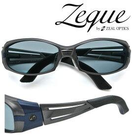 Zeque by ZEAL OPTICS ゼクー バイ ジールオプティクス サングラス VERO 2nd (ジール ヴェロ セカンド) F-1326 ガンメタル/ネイビー 偏光レンズ TALEX (タレックス) マスターブルー 【送料無料】