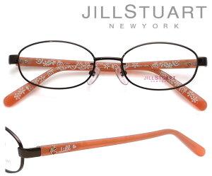 JILL STUART NEWYORK (ジルスチュアート ニューヨーク)メガネフレーム 46サイズ 04-0026 4 チョコブラウン 【キッズ 子供用】