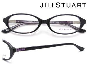 JILL STUART (ジルスチュアート) メガネフレーム 52サイズ 05-0796 04 パープル・クリアパープル