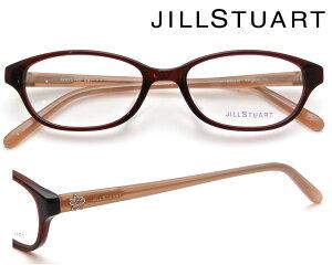 JILL STUART (ジルスチュアート) メガネフレーム 52サイズ 05-0804 01 ダークレッド