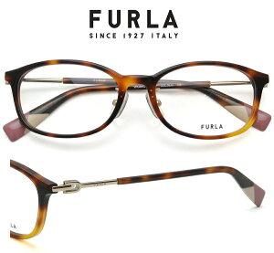 FURLA (フルラ) メガネフレーム VFU491J 09JC 51サイズ ハバナ