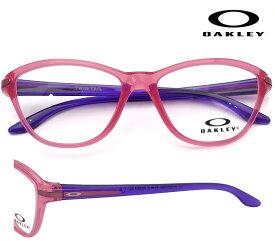OAKLEY Twin Tail (オークリー ツインテール) 8008-0348 ピンク/パープル 48サイズ ジュニア