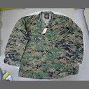 米軍 シャツ 新品 放出品 USMC Woodland Digital Shirts【売れ筋】【当店オススメ】