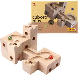 【送料無料】キュボロ プラス Cuboro Plus(スイス クボロ社) 積み木 木のおもちゃ ピタゴラスイッチ 藤井聡太 並行輸入品/海外正規品