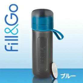 【送料無料】並行輸入品 ブリタ(BRITA)フィル&ゴー アクティブ(Fill&Go Active) Water Filter Bottle ボトル型浄水器 (色:ブルー)