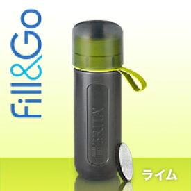 【送料無料】並行輸入品 ブリタ(BRITA)フィル&ゴー アクティブ(Fill&Go Active) Water Filter Bottle ボトル型浄水器 (色:ライムグリーン)