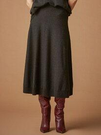 【SALE/51%OFF】*Marisol12月号掲載*【La Maglia due】ニットスカート EPOCA エポカ ザ ショップ スカート ロングスカート ブラウン ピンク【RBA_E】【送料無料】[Rakuten Fashion]