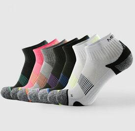 ランニング ソックス カラフル リブ編み 靴下  ランニングウェア メンズ レディース スポーツ アウトドア ランニング ウェア ソックス 靴下