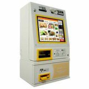 マミヤ・オーピータッチパネル式券売機型式:VMT-601S寸法:幅440mm 奥行325mm 高さ545mm送料:無料 (メーカーより)直送保証:メーカー保証付