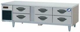 パナソニック(旧サンヨー)2段ドロワータイプ冷蔵庫型式:SUR-DG1661-2B1寸法:幅1635mm 奥行600mm 高さ550mm送料:無料 (メーカーより)直送保証:メーカー保証付