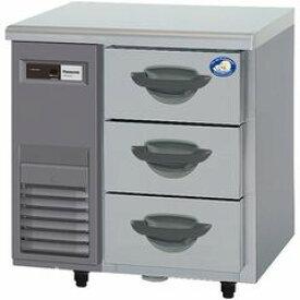 パナソニック(旧サンヨー)3段ドロワータイプ冷蔵庫《インバーター》型式:SUR-DK771-3寸法:幅735mm 奥行750mm 高さ800mm送料:無料 (メーカーより)直送保証:メーカー保証付