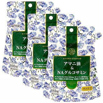 Linseed oil & NA glucosamine Nippon Flour Mills Co., Ltd. (supplement)