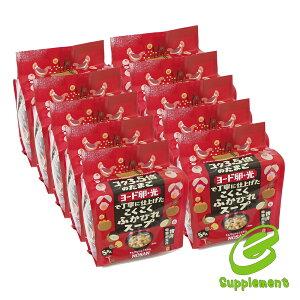 ヨード卵光 こくこくふかひれスープ(5食セット)(10袋セット) 日本農産工業 ギフト プレゼント 元気 スタミナ 健康 健康食品 包装ラッピング可(有料)