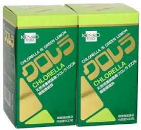 クロレラ(大)1600粒(2本セット) 健康フーズ / サプリメント 同梱区分J