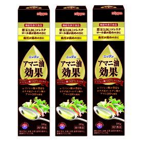 アマニ油プレミアムリッチ 186g(3本セット) 日本製粉(ニップン) オメガ3脂肪酸 DHA EPA 亜麻仁油 ギフト プレゼント 元気 スタミナ 健康 サプリ 健康食品 あまに アマニオイル 包装ラッピング可(有料)