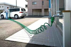 ガーデンコイルホース取替え(延長)用ホース12m (専用コネクタ付き)