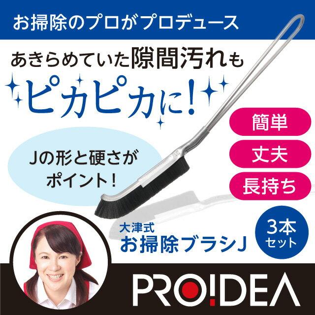 大津式 お掃除ブラシ J(3本組)