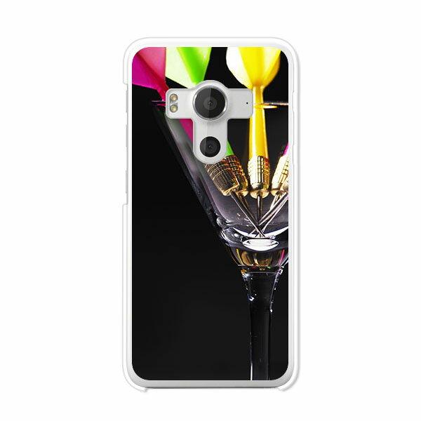 送料無料 HTC J butterfly HTV31 ケース/カバー 【Darts クリアケース素材】バタフライ HTV31 ジャケット HTC