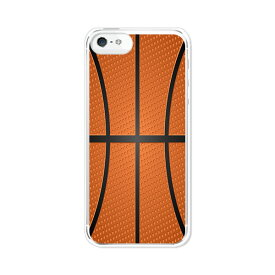 送料無料 iPhone SE iPhone5S iPhone5C アイフォン5 ケース/カバー 【Basketball クリアケース素材】