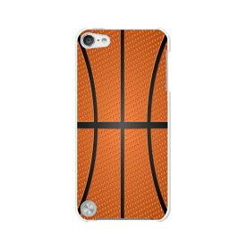 送料無料 第5世代 iPod touch Apple アイポッド ケース/カバー【Basketball 無地白ハードケース】