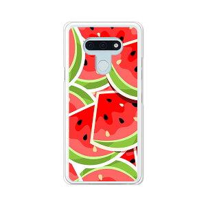 LG style3 L-41A ケース/カバー 【スイカスイカ クリアケース素材】l41a スマホケース LGスタイル3L41A ドコモ lgstyle3l41aケース 携帯カバー 携帯ケース