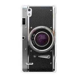 MONO MO-01J ケース/カバー 【レトロCamera クリアケース素材】モノ mo01j ジャケット MONO MO-01J スマホケース