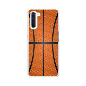 OPPO Reno3 A ケース/カバー 【Basketball クリアケース素材】OPPOreno3aハードケース オッポリノ3Aカバー スマホケース オッポレノ3A 携帯ケース 携帯カバー シムフリー