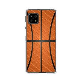 AQUOS sense4 SH-41A /SH-M15/sense4basicA003SH /sense4liteSH-RM15 共通ケース/カバー 【Basketball クリアケース素材】アクオスセンス4ベーシック アクオスセンス4ライト SHRM15 SHM15 スマホケース 携帯ケース
