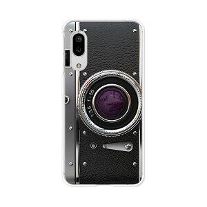 AQUOS sense3 SH-02M/SHV45/SH-M12/sense3lite SH-RM12/sense3 basic SHV48 共通ケース/カバー 【レトロCamera クリアケース素材】shrm12 カバー shm12 アクオスセンス3ライト 携帯ケース