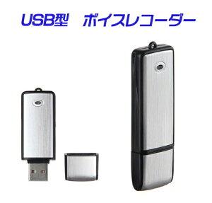 【定形外送料無料】USB型ボイスレコーダー 4GB内蔵/USBメモリ/大容量/長時間録音/携帯便利/操作簡単/8GBへアップ可能/ICレコーダー/ボイスレコーダー 小型/ボイスレコーダー 長時間/録音 vr01